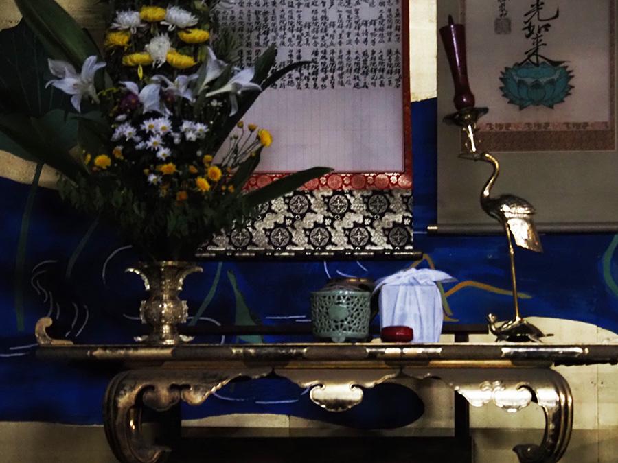明通寺で供養されることになったウィシュマさんの遺骨